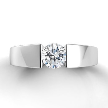 Voltaggio Split Shank Engagement Ring