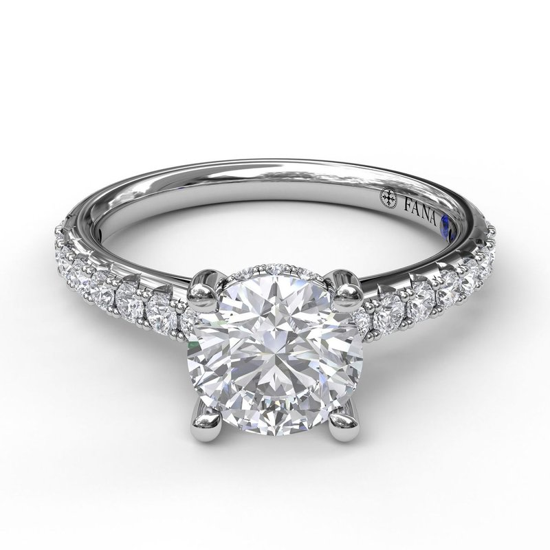 Fana Timeless Single Row Engagement Ring