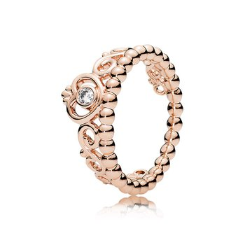 My Princess Tiara Ring, Pandora Rose™ Clear Cz