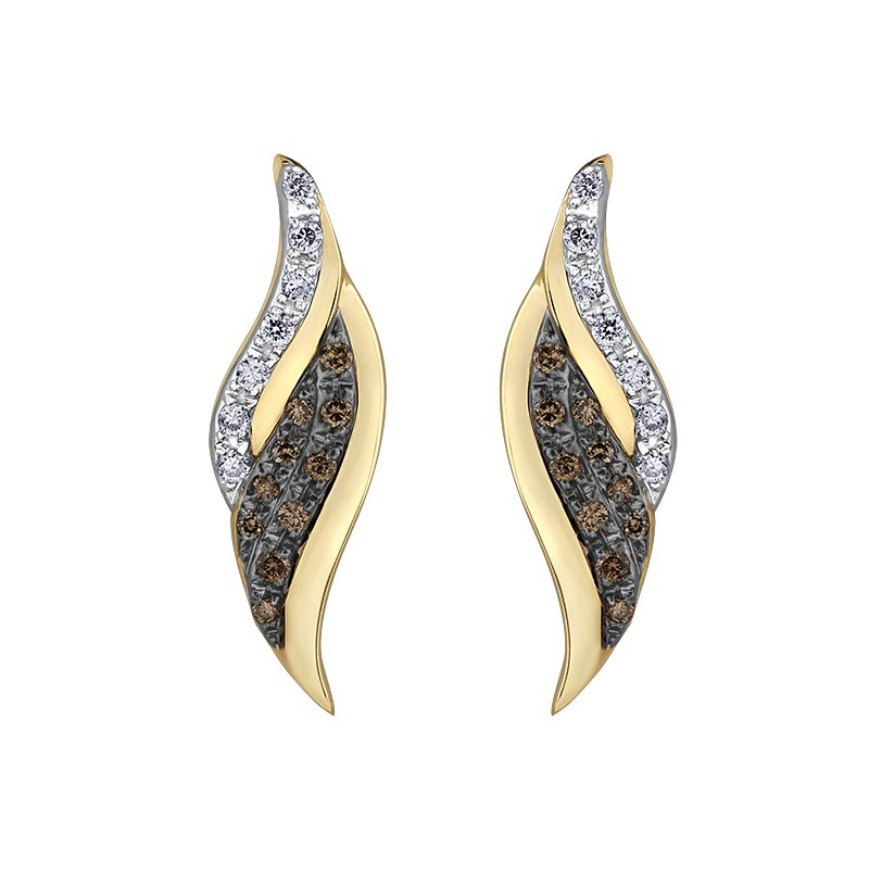 Diamond Days Nat Brown Diamond Earrings
