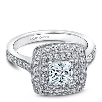 Noam Carver Fancy Engagement Ring B182-01A