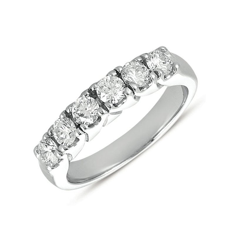 S. Kashi & Sons Bridal White Gold Mtching Band