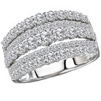 Tesoro Ladies Diamond Fashion Ring