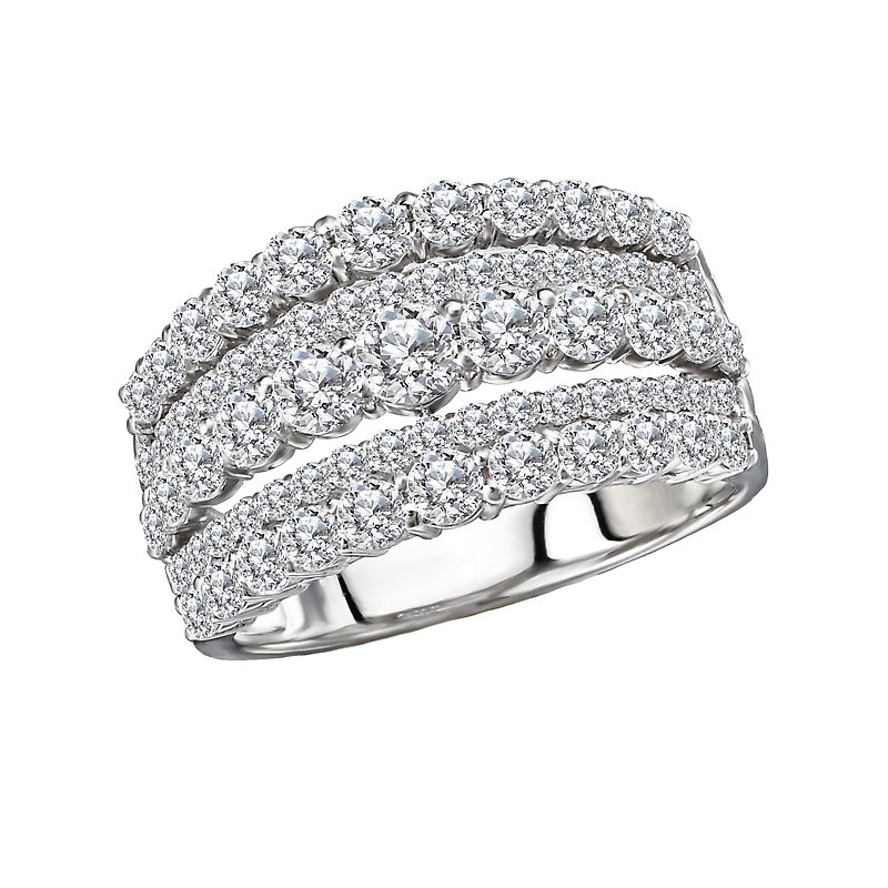 Tesoro Diamond Fashion Ring