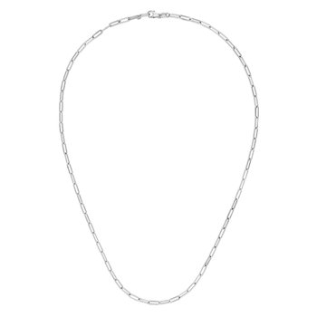 14K Gold 2.5mm Paperclip Chain