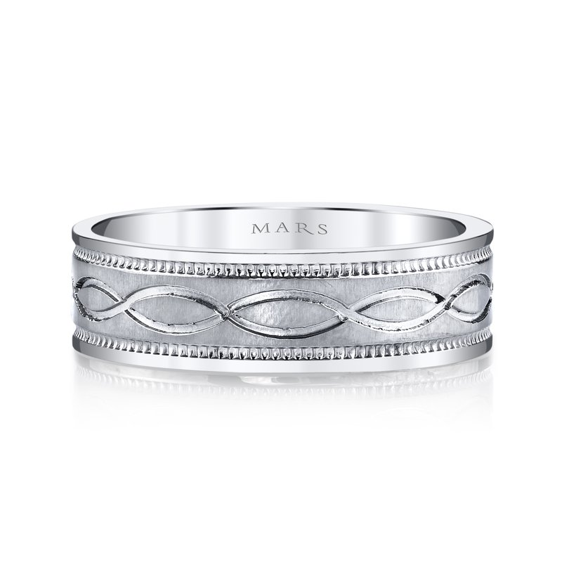 MARS Jewelry - Wedding Band G106