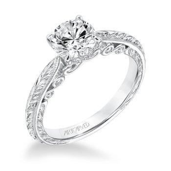 ArtCarved Anwen Diamond Engagement Mounting