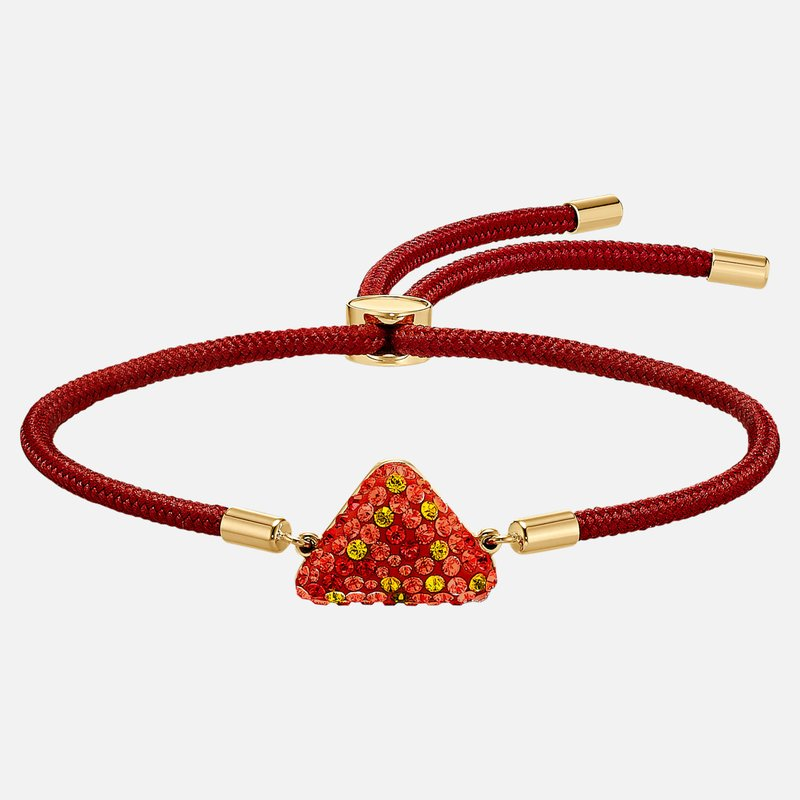Swarovski Power Collection Fire Element Bracelet, Red, Gold-tone plated