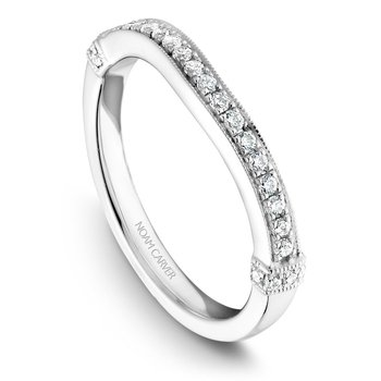 Noam Carver Wedding Band B064-01B