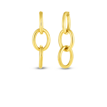 #27700 Of 18Kt Gold 3 Loop Earrings