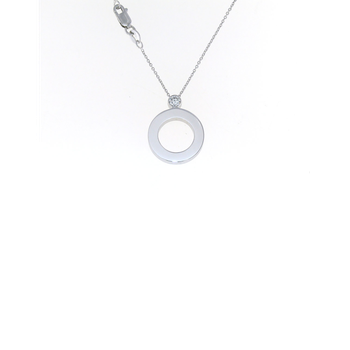 Cento Pave Baby O Pendant (without center)