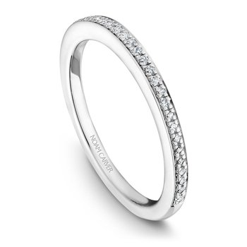 Noam Carver Wedding Band B047-01B