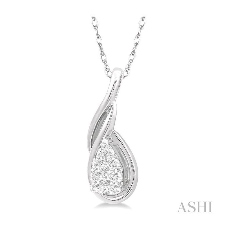Crocker's Collection lovebright diamond pendant