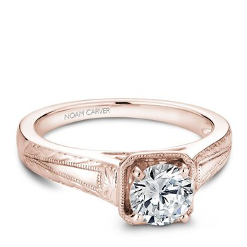Noam Carver Vintage Engagement Ring B078-01RA