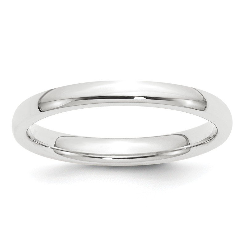 Quality Gold Platinum 2.5mm Comfort-Fit Wedding Band