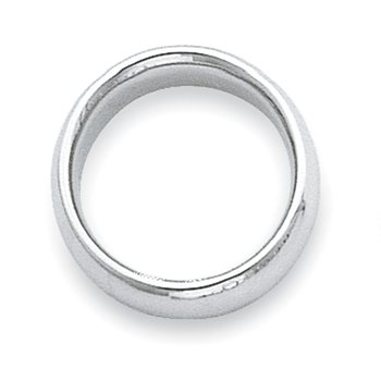 Platinum 2.5mm Comfort-Fit Wedding Band
