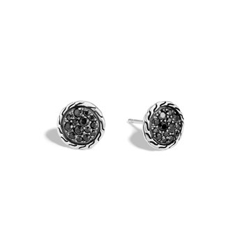 Classic Chain 10MM Stud Earring in Silver