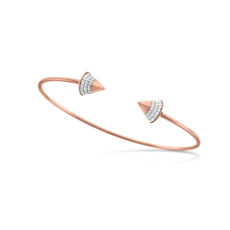 KC Designs Diamond Spike Bangle Bracelet