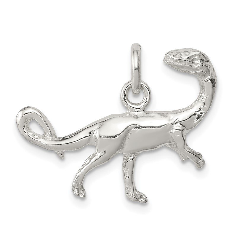 Quality Gold Sterling Silver Raptor Charm