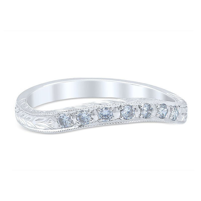 Whitehouse Brothers Romanesque Arcade Wedding Ring