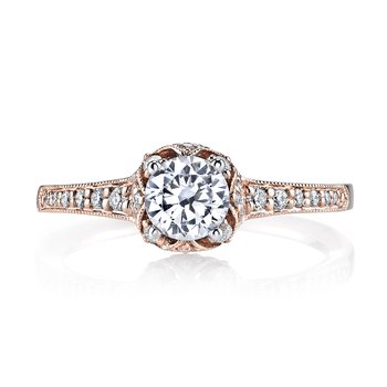 MARS 25802 Diamond Engagement Ring, 0.27 ct tw