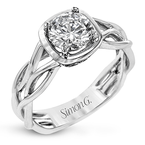Simon G MR2960 ENGAGEMENT RING