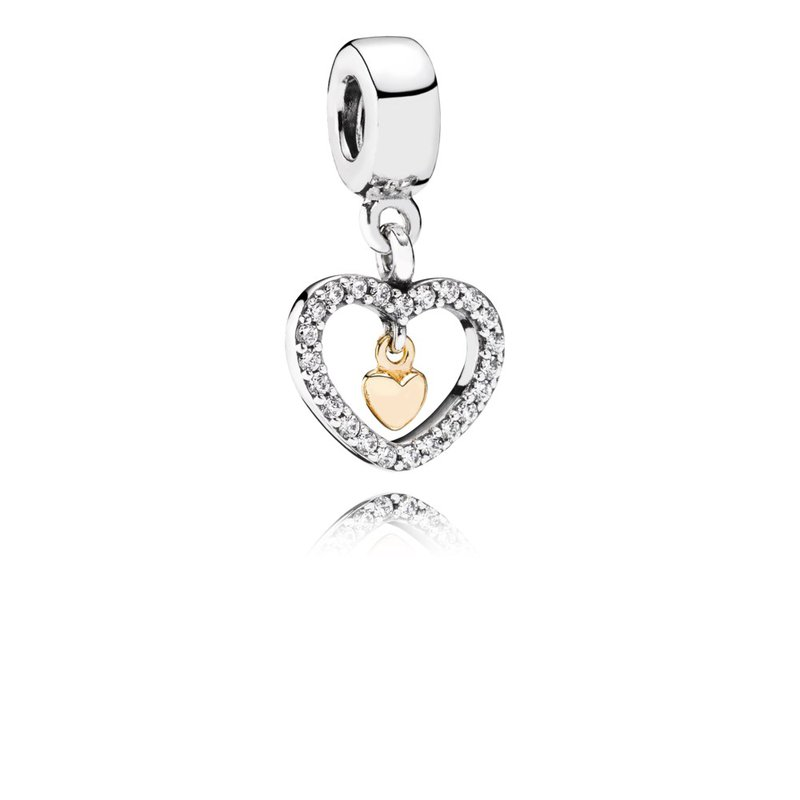 c119f2985 PANDORA Forever in My Heart, Clear CZ. Stock # 791421CZ