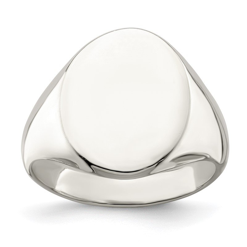 Quality Gold Sterling Silver Signet Ring