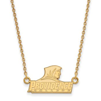 Gold-Plated Sterling Silver Providence College NCAA Necklace