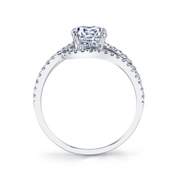 MARS 25149E Diamond Engagement Ring 0.36 ct tw