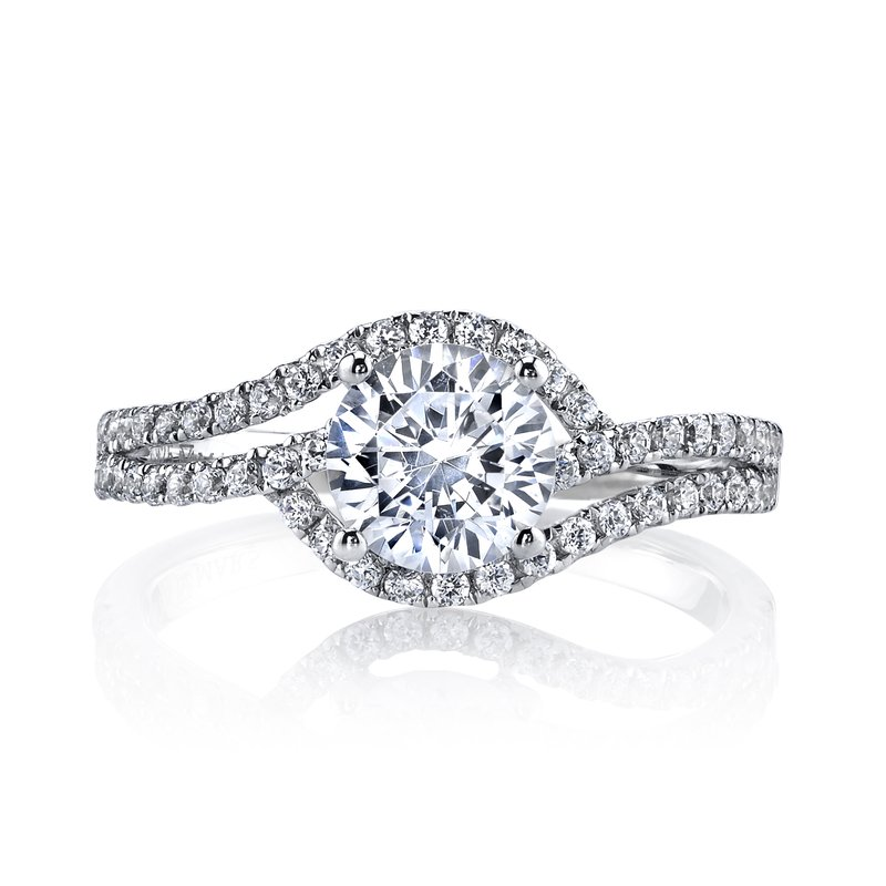 MARS Jewelry MARS 25149E Diamond Engagement Ring 0.36 ct tw