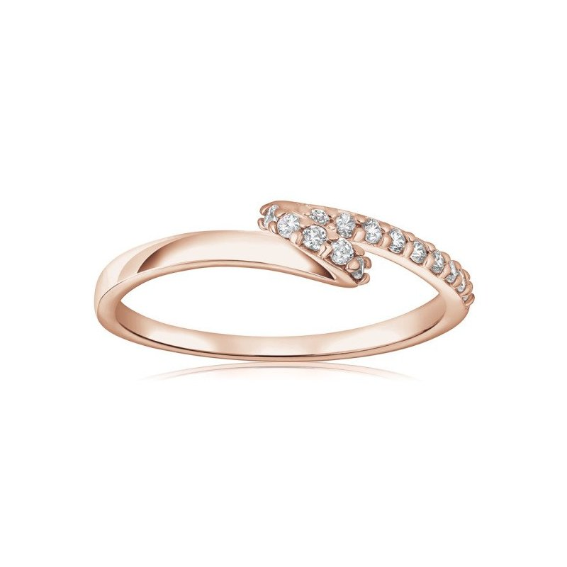 LARUS Jewelry Pink Ribbon Ring