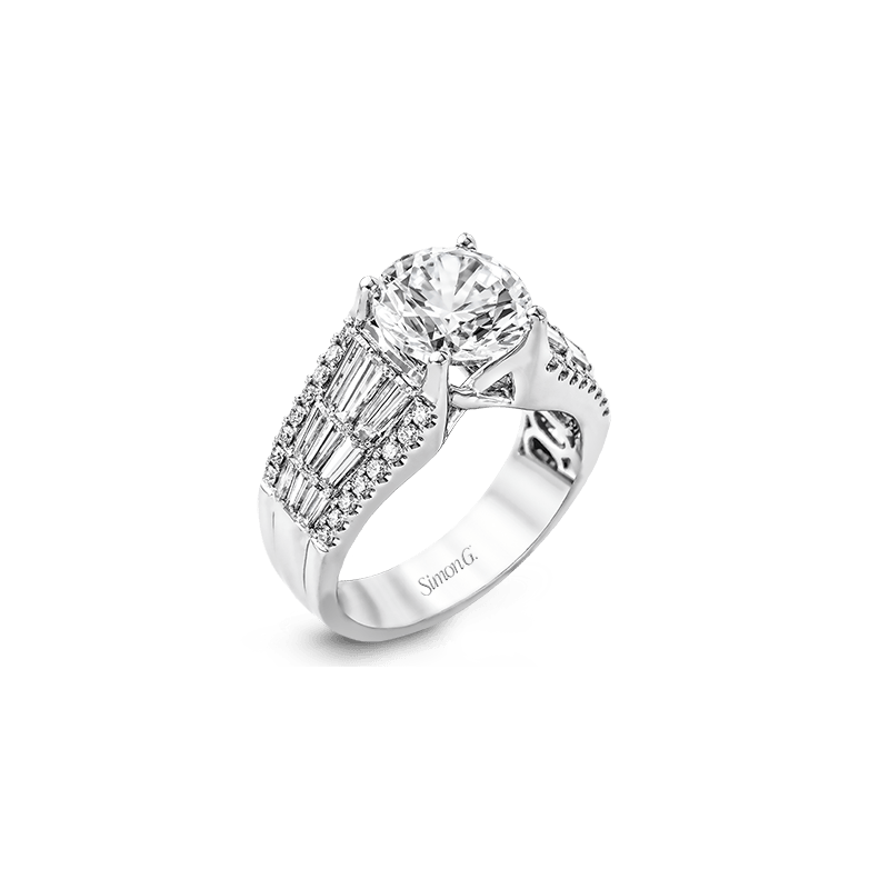 Simon G MR2064 ENGAGEMENT RING