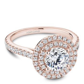 Noam Carver Modern Engagement Ring R051-01RA