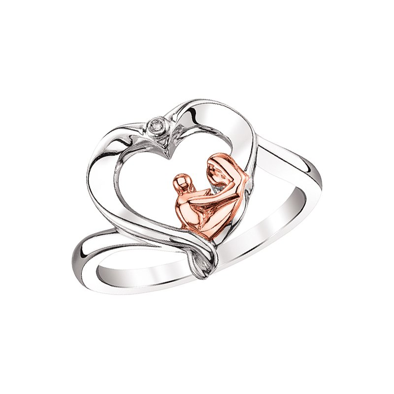 Kissing Hearts Collection Ring