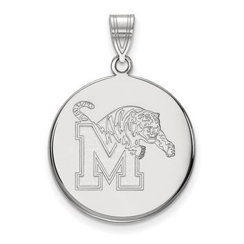 Gold University of Memphis NCAA Pendant