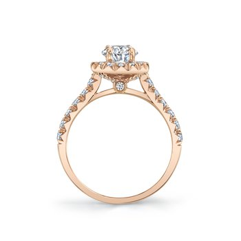 MARS 27080 Engagement Ring, 0.60 Ctw.
