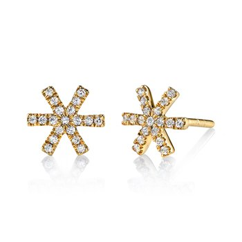 MARS 26678 Fashion Earrings, 0.20 Ctw.