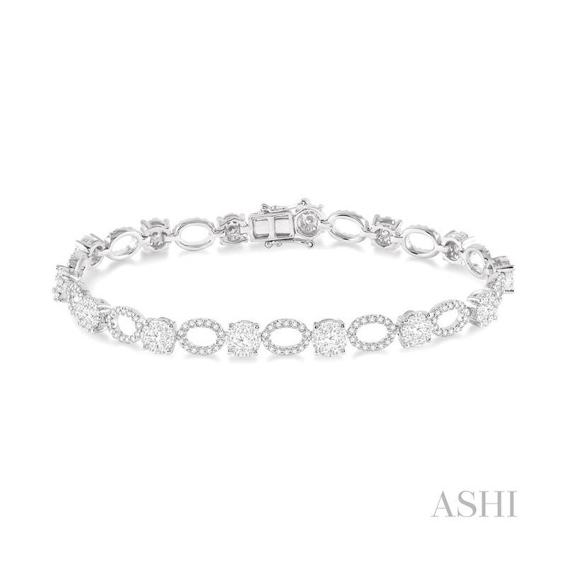 ASHI lovebright diamond bracelet