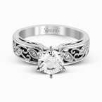 Simon G LP1355 ENGAGEMENT RING