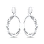 0.04 ct White Diamond Fashion Earrings