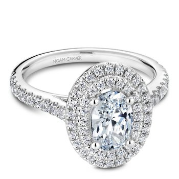 Noam Carver Fancy Engagement Ring R051-02A