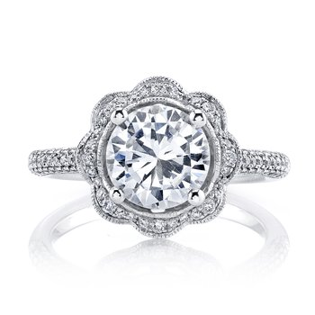MARS 25255  Diamond Engagement Ring 0.47 Ctw.