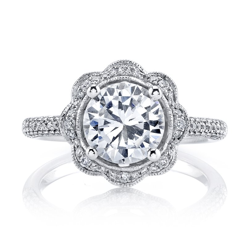 MARS Jewelry MARS 25255  Diamond Engagement Ring 0.47 Ctw.