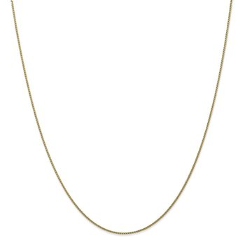 Leslie's 10K 1mm Diamond-cut Wheat Chain