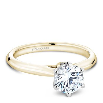 Noam Carver Modern Engagement Ring B143-17YWA