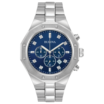 Bulova Diamond Collection Mens Watch