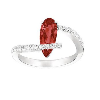 Ruby Ring-CR6658WRU