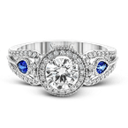 Simon G LP2353 ENGAGEMENT RING