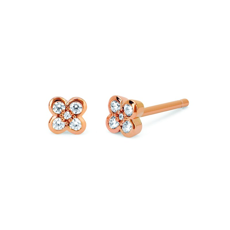 Classic Selection Earrings Rd V 0.128